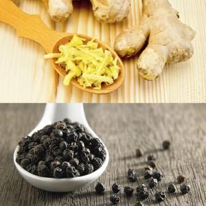 Gừng và tiêu đen – hoạt chất thiên nhiên tốt cho người bệnh đau khớp